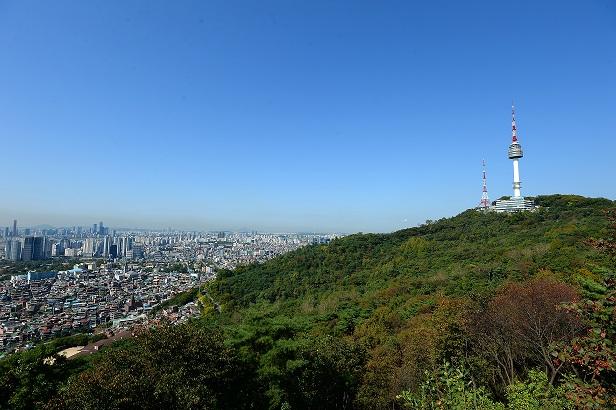 맑은 날의 남산 <사진=뉴스1>